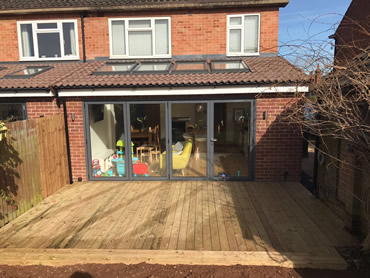Kitchen Extension - Blackthorn Road, Kenilworth
