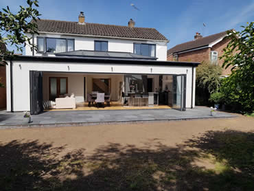 Amhurst Road, Kenilworth, renovation project